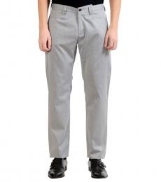 Versace Collection Grey Regular Dress Pants