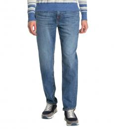 True Religion Blue Geno Slim Fit Jeans