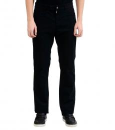 Versace Collection Black Trend Casual Pants