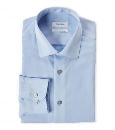 Blue Regular Fit Dress Shirt