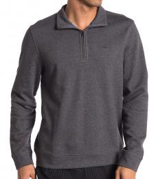 Calvin Klein Steel Grey Quarter Zip Jacket