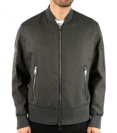 Neil Barrett Grey Bomber Jacket