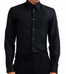 Versace Collection Black Trend Dress Shirt