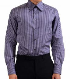 Versace Collection Purple City Dress Shirt