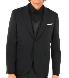 Neil Barrett Black Skinny Fit Blazer