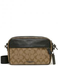 Coach Tan Graham Large Crossbody