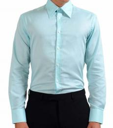 Versace Collection Turquoise City Dress Shirt