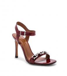 Cordovan Signature Chain Heels