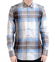 Dolce & Gabbana Multicolor Plaid Long Sleeve Shirt