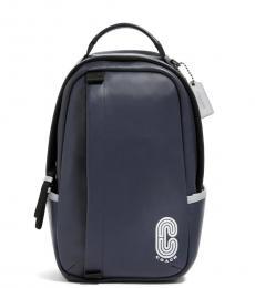Coach Blue Edge Pack Medium Backpack