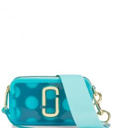 Marc Jacobs Blue Snapshot Jelly Small Crossbody