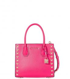 Pink Mercer Heart Small Satchel