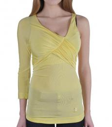Yellow Twisted Top
