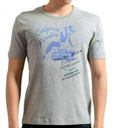Grey Graphic Short Sleeve T-Shirt