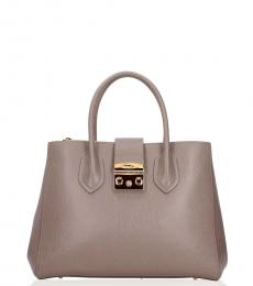 Grey Grand Medium Satchel
