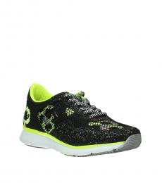 Hogan Black Yellow Glitter Sneakers