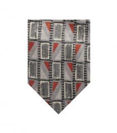 Silver Classic Tie