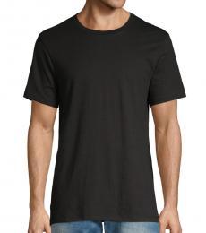 Calvin Klein Black Short-Sleeve Cotton Tee