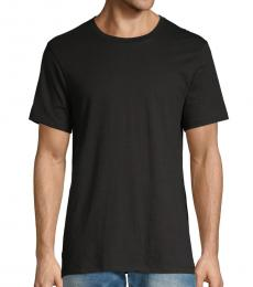 Calvin Klein Black Short-Sleeve Cotton Tee