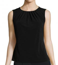 Black Pintuck Camisole Top