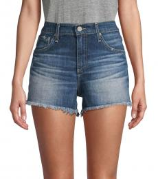 AG Adriano Goldschmied Fifteen Year Bazaar Boyfriend Denim Shorts