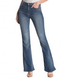 7 For All Mankind Denim Ali High Waist Flare Leg Jeans