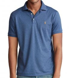 Ralph Lauren Derby Blue Custom Slim Fit Polo