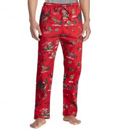 Ralph Lauren Red Flannel Pajama Pants