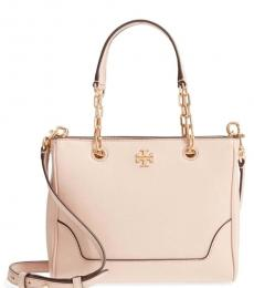 Tory Burch Shell Pink Carter Chain Small Tote
