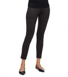 Calvin Klein Leopard Print Stretch Pants