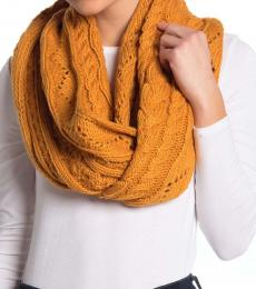 Michael Kors Marigold Cable Infinity Scarf