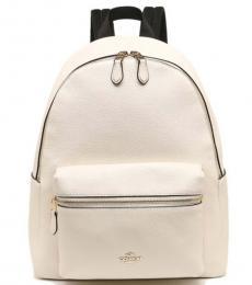 Coach Chalk Charlie Large Backpack