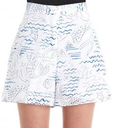 Multi color Poplin Shorts
