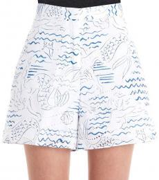 Kenzo Multi color Poplin Shorts