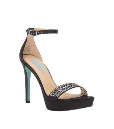 Black Alma Platform Heels