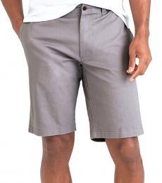 Grey Rivington Flex Khaki Shorts