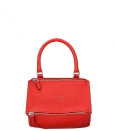 Red Pandoral Small Satchel