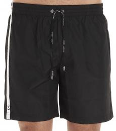Dolce & Gabbana Black Band Logo Beachwear