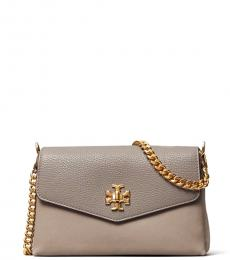 Tory Burch Grey Heron Kira Small Crossbody