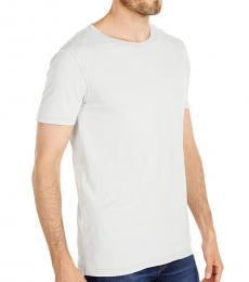 Hugo Boss Light Grey Tokks Garment Dyed T-Shirt