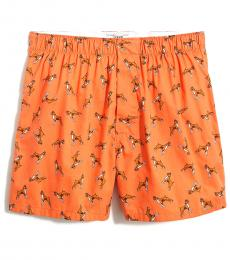 J.Crew Dusty Pumpkin Multi Woven Boxers