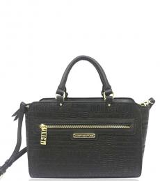 Juicy Couture Black Logo Games Small Satchel