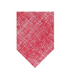 Ben Sherman Red Raglen Melange Tie