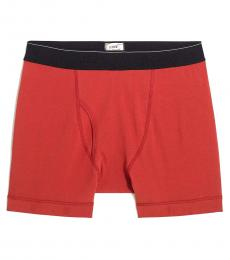 J.Crew Red Knit Boxer Briefs