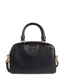 Marc Jacobs Black Voyager Small Satchel