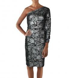 Ralph Lauren Black Lace Mini Party Dress