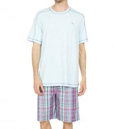 Tommy Bahama Aqua 2-Piece Pajama Set