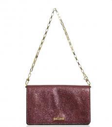 Red Glitter Small Shoulder Bag