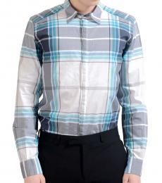 Dolce & Gabbana Multicolor Plaid Cotton Shirt