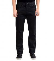 Versace Collection Grey Trend Coated Pants